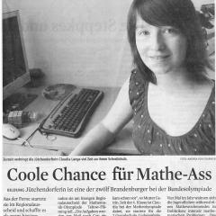 Coole Chance für Mathe-Ass