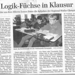 Logik-Füchse in Klausur